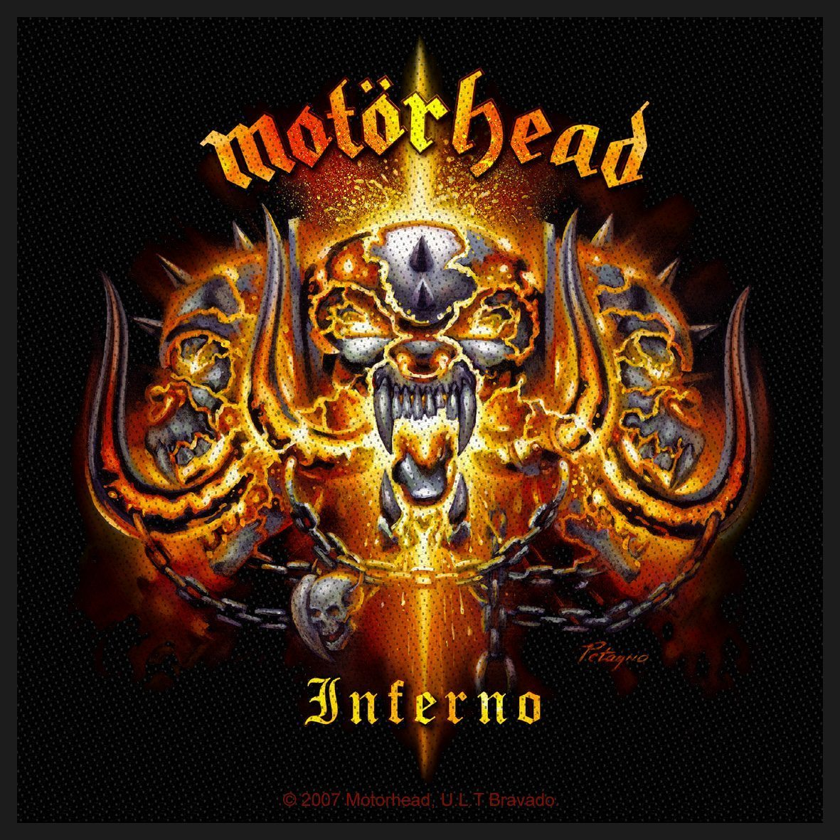 Motorhead Woven Patch Inferno.