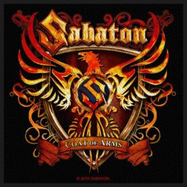 Sabaton Woven Patch Coat Of Arms.
