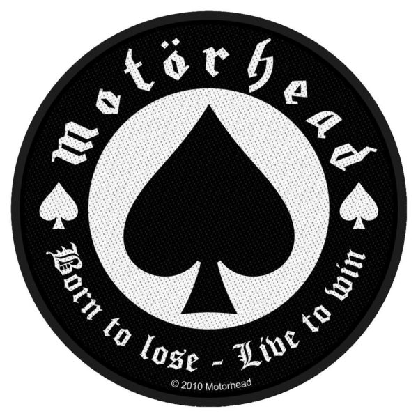 Motorhead Woven Patch Born To Lose.