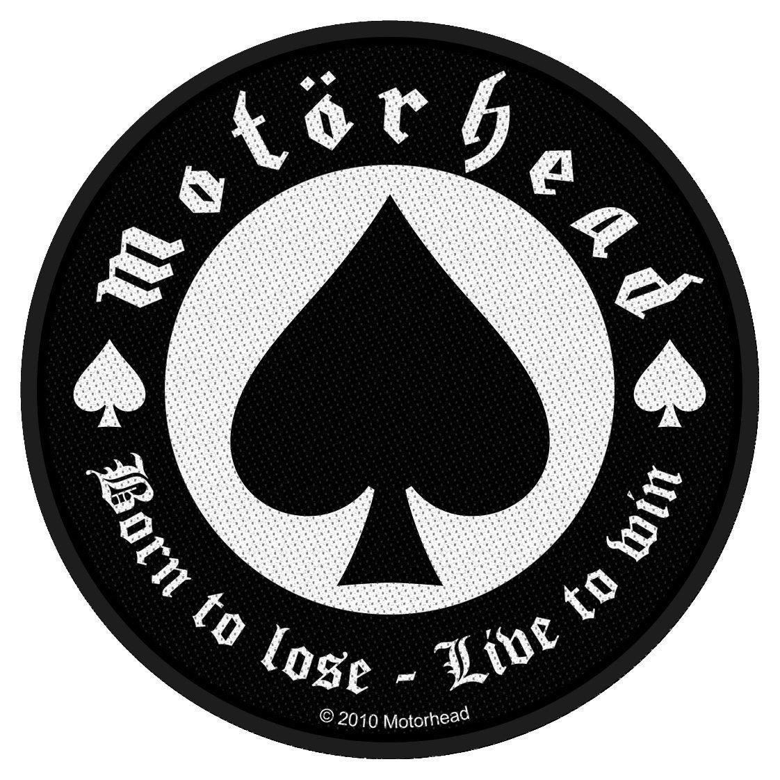 Motorhead Woven Patch Born To Lose.