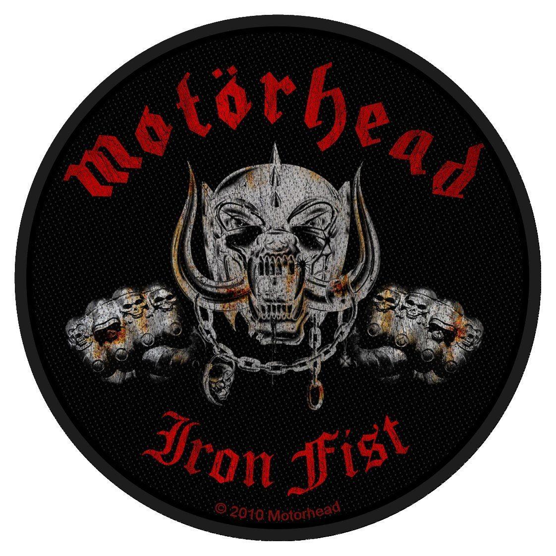 Motorhead Woven Patch Iron Fist / Skull.