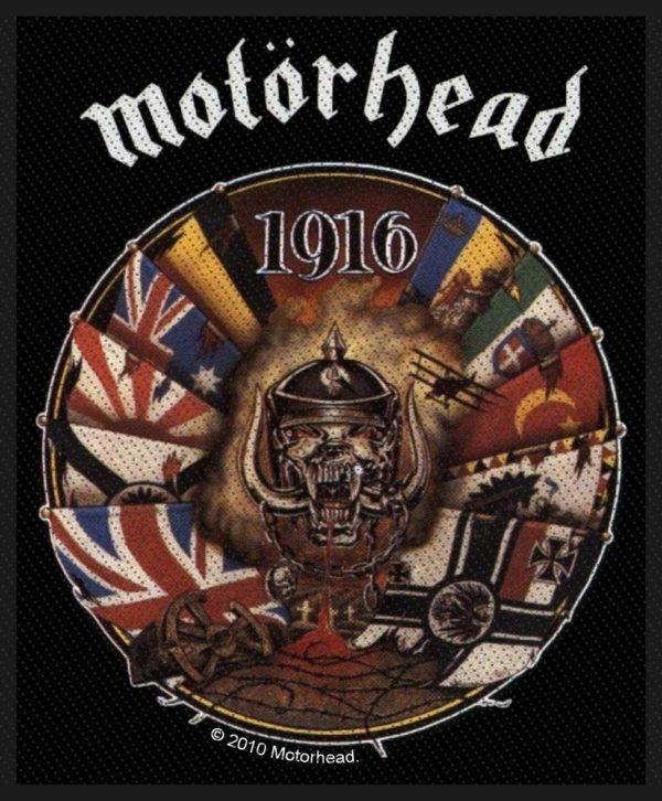 Motorhead Woven Patch 1916.