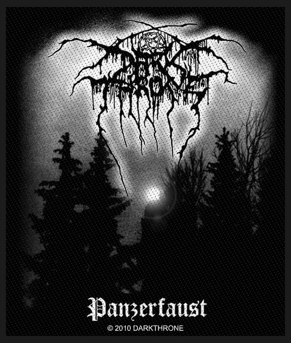 Dark Throne Woven Patch Pazerfaust.