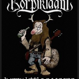 Korpiklaani Woven Patch Happy Little Boozer.