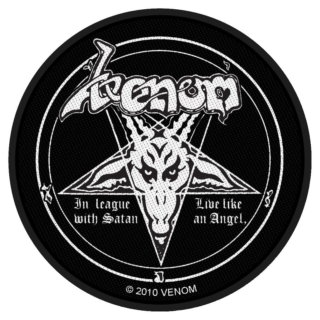 Venom Woven Patch In League With Satan.