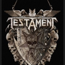 Testament Woven Patch Shield.