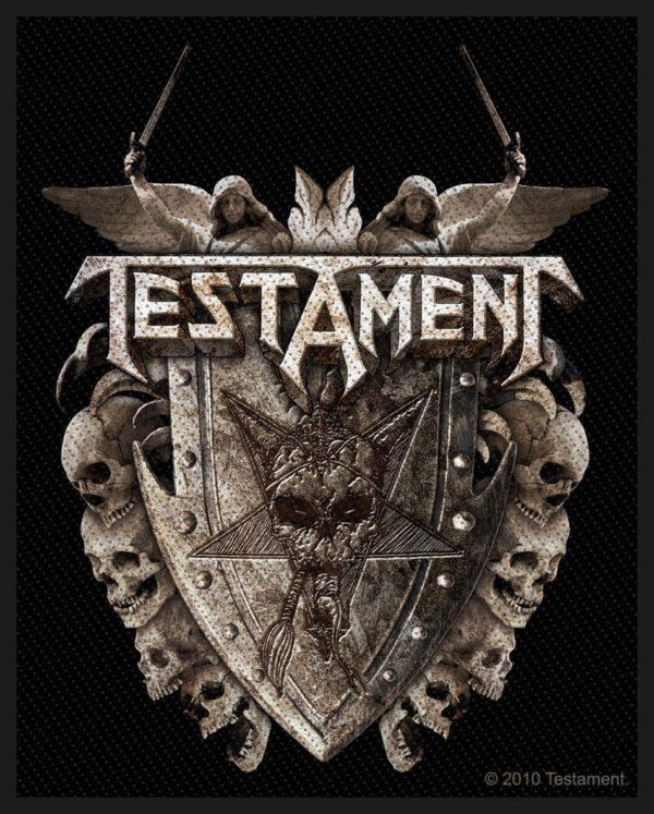 Testament Woven Patch Shield.