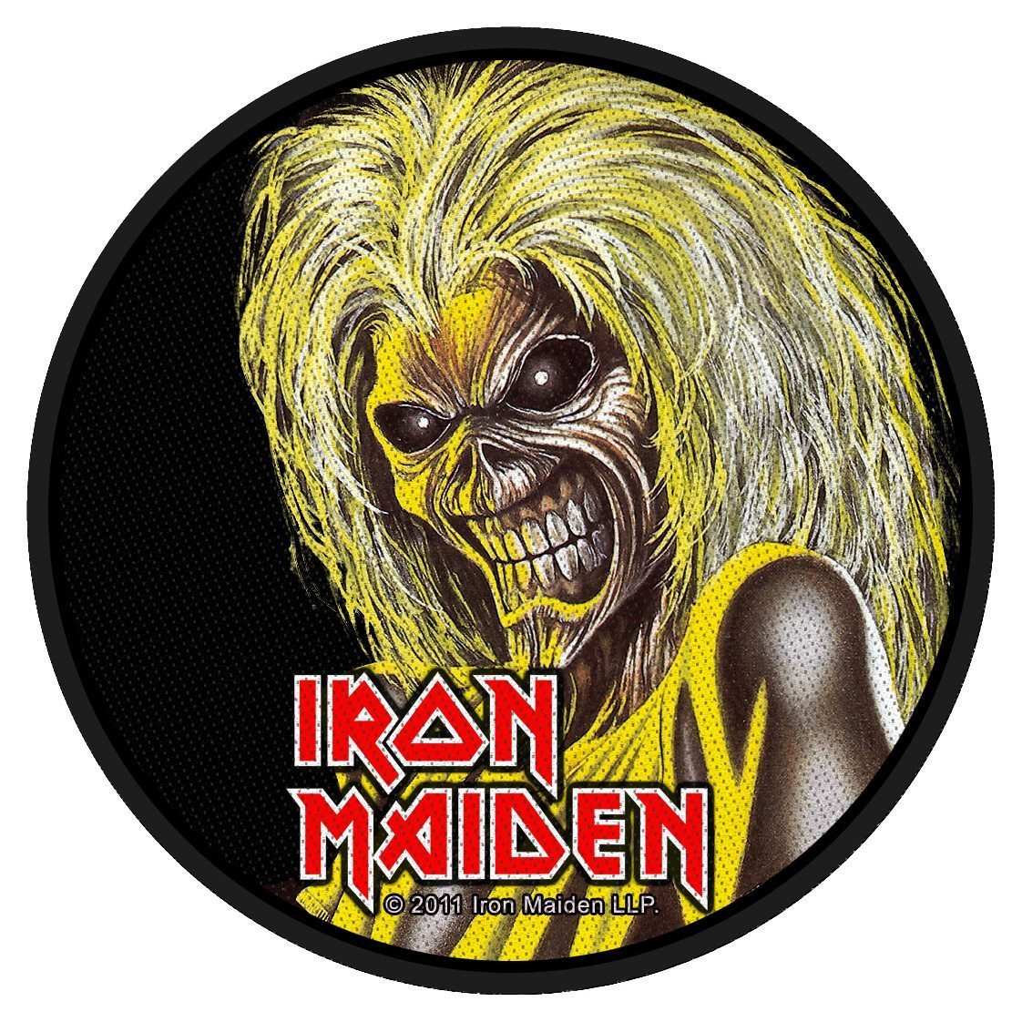 Iron Maiden Woven Patch Killers Face