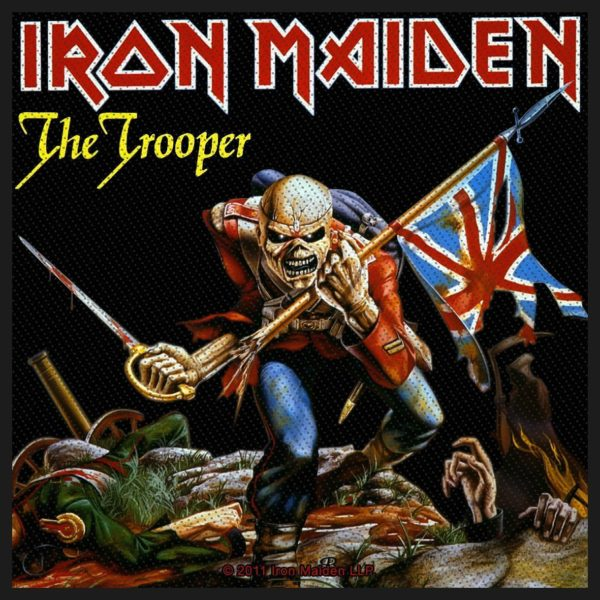 Iron Maiden Woven Patch The Trooper