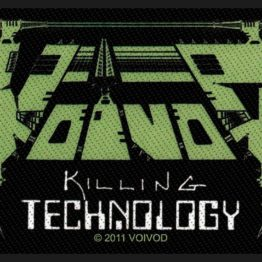 Voivod Woven Patch Killing Technology