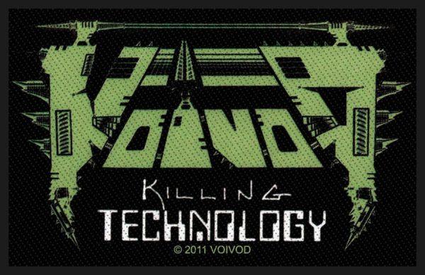 Voivod Woven Patch Killing Technology