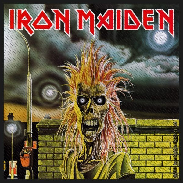 Iron Maiden Woven Patch Iron Maiden
