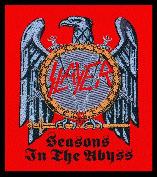 Slayer Woven Patch Seasons in the Abyss