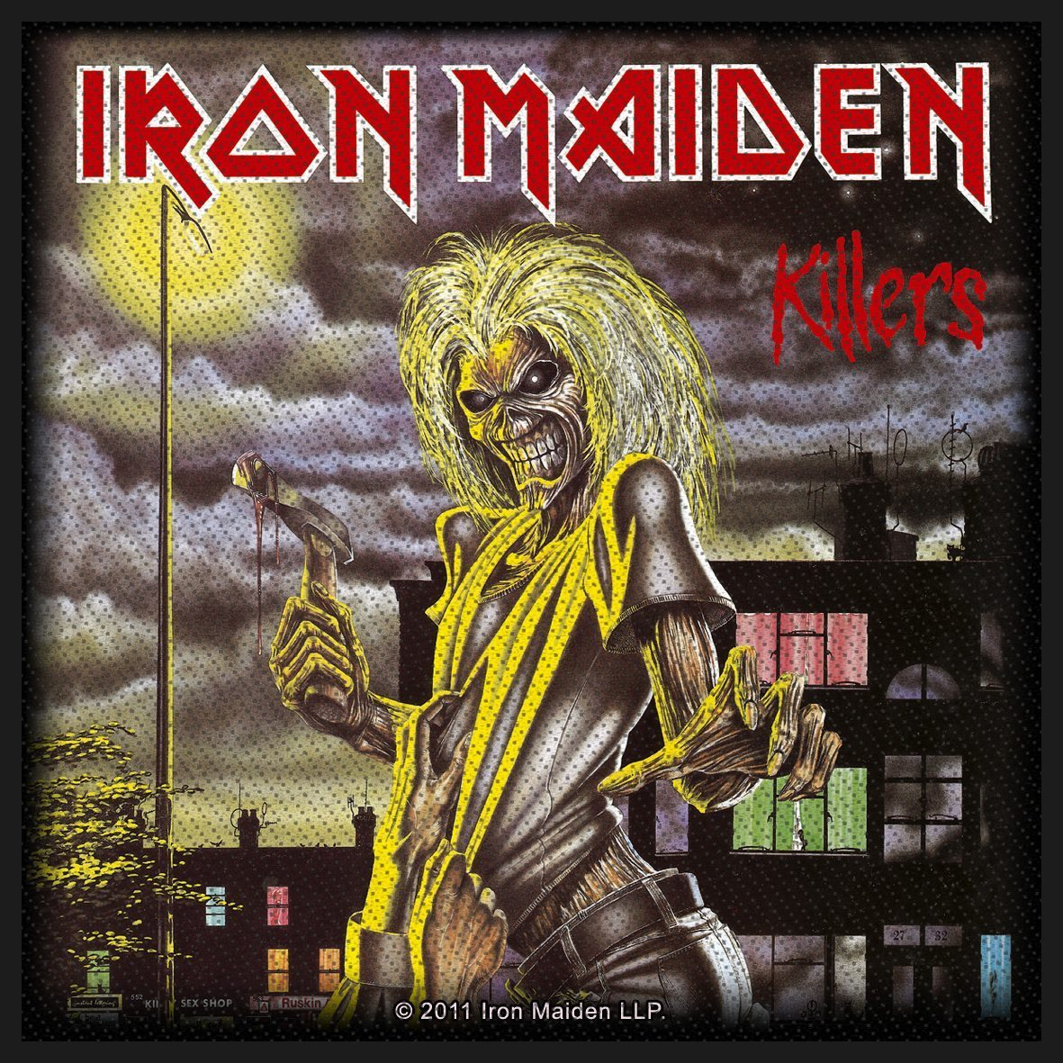 Iron Maiden Woven Patch Killers