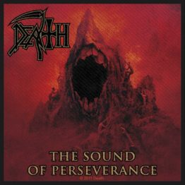Death Woven Patch Sound Of Perseverance