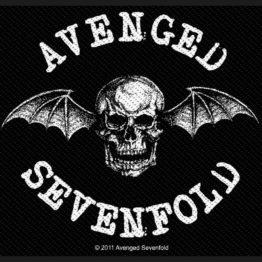 Avenged Sevenfold Woven Patch Death Bat