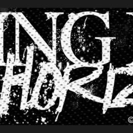 Bring Me The Horizon Woven Patch Horror Logo