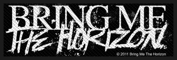 Bring Me The Horizon Woven Patch Horror Logo