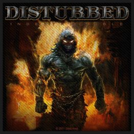 Disturbed Woven Patch Indestructible