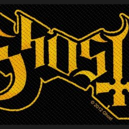 Ghost Woven Patch Logo