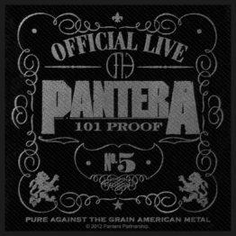 Pantera Woven Patch 101% Proof