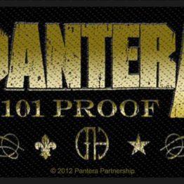 Pantera Woven Patch Whiskey Label