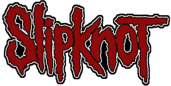 Slipknot Woven Patch Logo