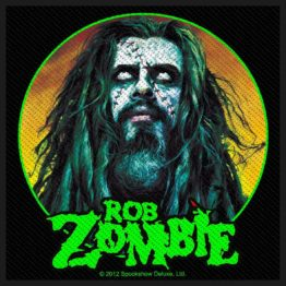 Rob Zombie Patch Zombie Face
