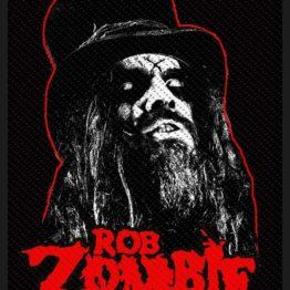 Rob Zombie Patch Portrait