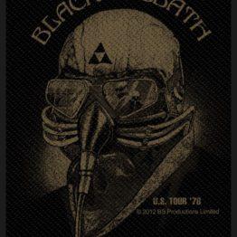Black Sabbath Woven Patch US Tour 78