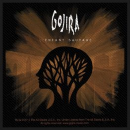 Gojira Woven Patch L'Enfant Sauvage