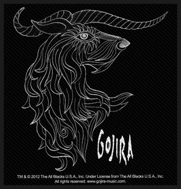 Gojira Woven Patch Horns
