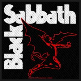 Black Sabbath Woven Patch Creature
