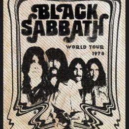 Black Sabbath Woven Patch Band
