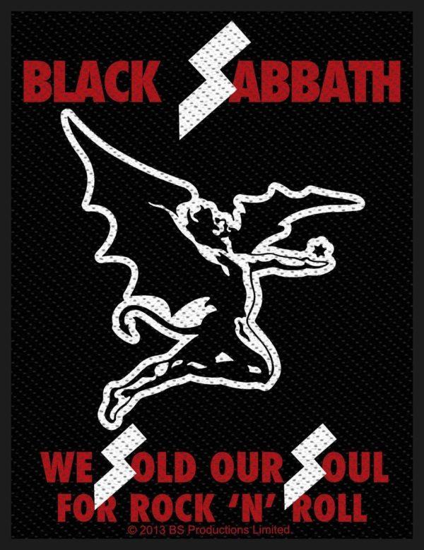 Black Sabbath Woven Patch Sold Our Souls