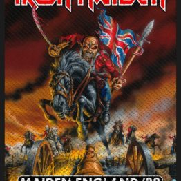 Iron Maiden Woven Patch Maiden England