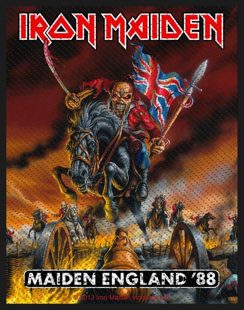 Iron Maiden Woven Patch Maiden England