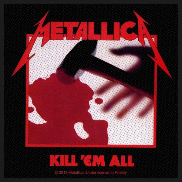 Metallica Woven Patch Kill 'Em All