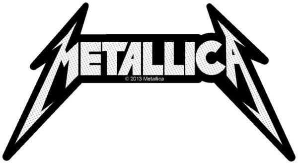 Metallica Woven Patch Shaped Logo