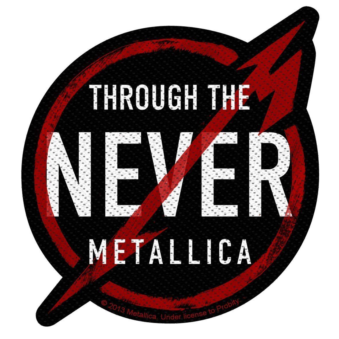 Metallica Woven Patch Through The Never