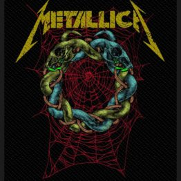Metallica Woven Patch Tangled Web