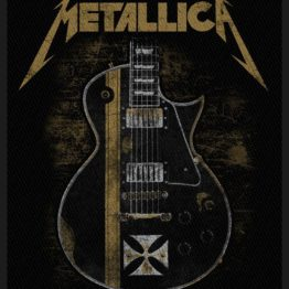 Metallica Woven Patch Hetfield Guitar