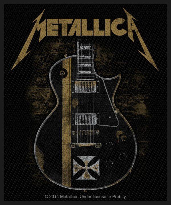 Metallica Woven Patch Hetfield Guitar