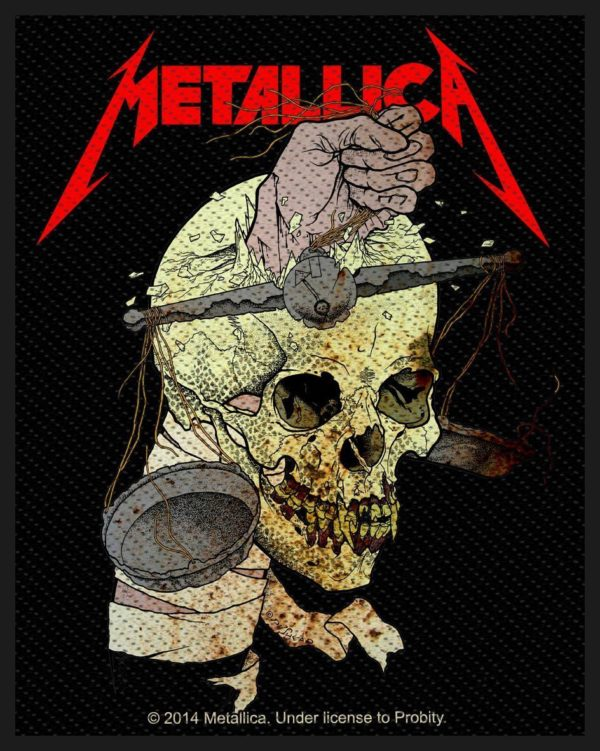 Metallica Woven Patch Harvester Of Sorrow