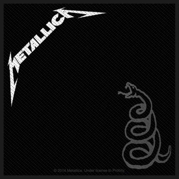 Metallica Woven Patch Black Album