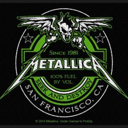 Metallica Woven Patch Beer Label