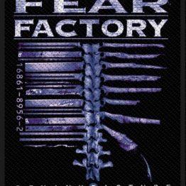 Fear Factory Woven Patch Demanufacture