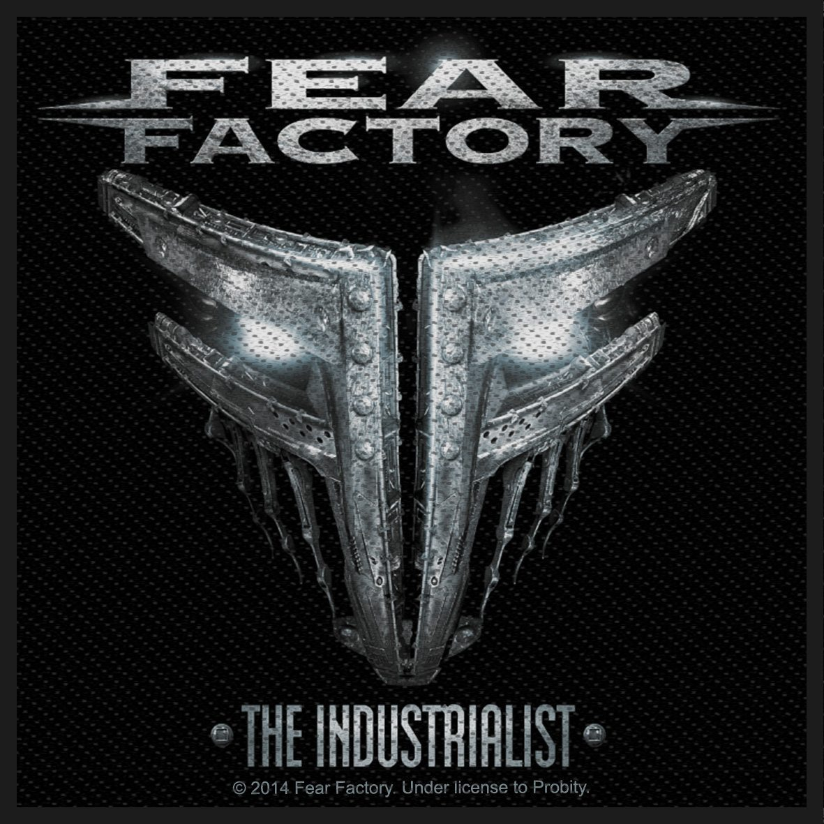 Fear Factory Woven Patch The Industrialist
