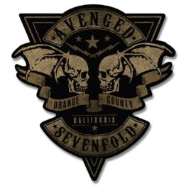 Avenged Sevenfold Patch Orange County Cut Out