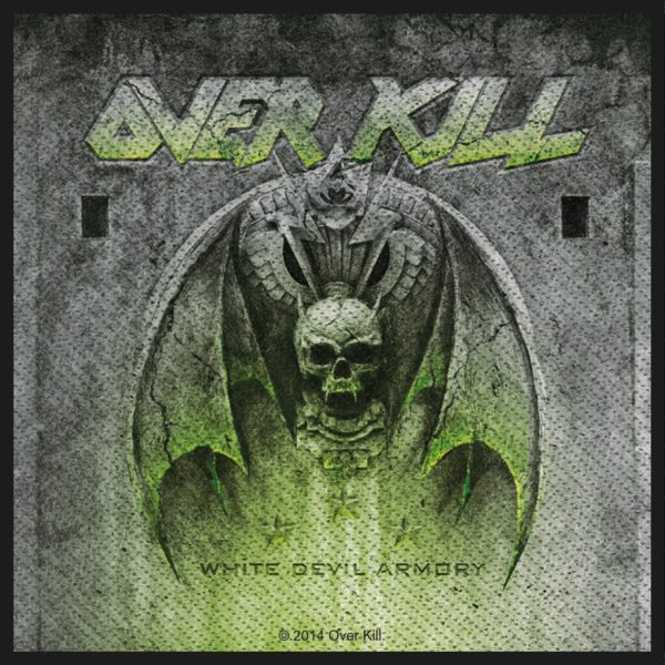 Overkill Woven Patch White Devil Armory